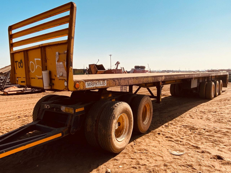 17m Trailer with double axle dolly
