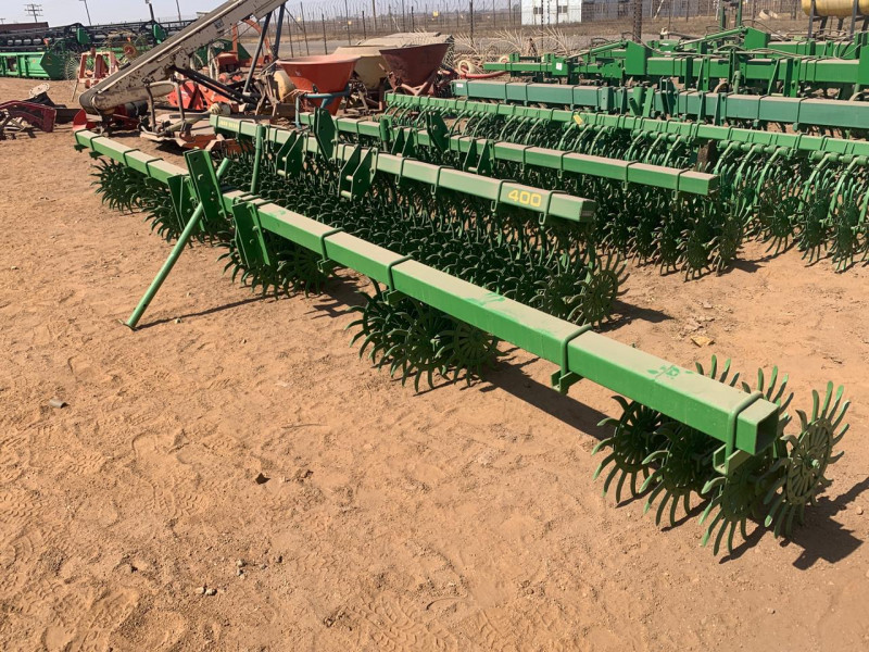 John Deere 400 5 row 7ft Roltandeg