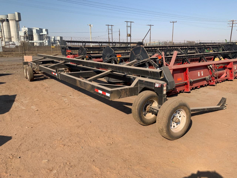 NEW 36 ft Discount Header Trailer